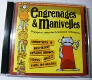 CD-ROM engrenages et manivelles et livret codex mécanicus