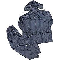 takestop® Tuta Antipioggia MOTORINO Bici Anti Pioggia Giacca Pantalone da  Sport Running Completo Impermeabile per 8285b6c92ab9