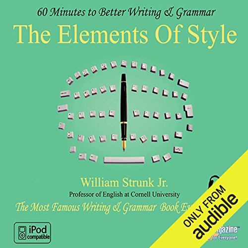 Telecharger The Elements Of Style 60 Minutes To Better Writing