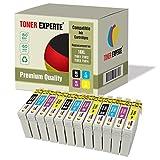 12 XL TONER EXPERTE® T1816 18XL Druckerpatronen kompatibel für Epson Expression Home XP-102 XP-202 XP-205 XP-212 XP-215 XP-225 XP-302 XP-305 XP-312 XP-315 XP-325 XP-402 XP-405 XP-412 XP-415 XP-425
