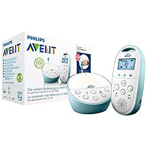 Philips Avent SCD560/00 DECT Babyphone, blau