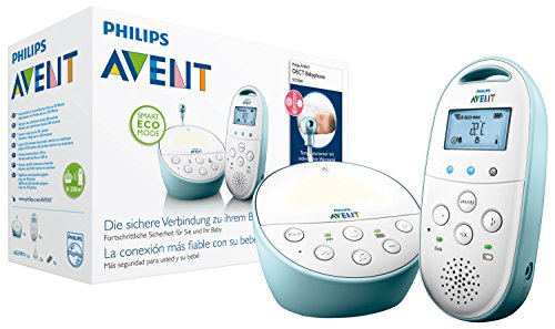 Philips Avent SCD560/00 DECT Babyphone (Smart Eco Mode, Temperatursensor )