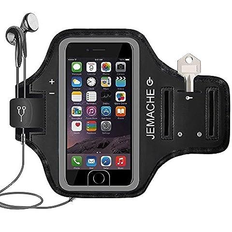 iPhone 7/7 Plus Brassard, JEMACHE Courir Sports Exercise Gym Armband