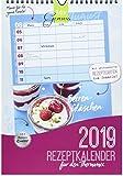 MixGenuss REZEPTKALENDER 2019 für den Thermomix mit Familienplaner: mit 52 abtrennbaren Rezeptkarten