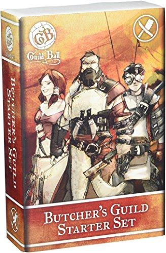 steamforged Spiele Guild Ball Butcher Starter Set