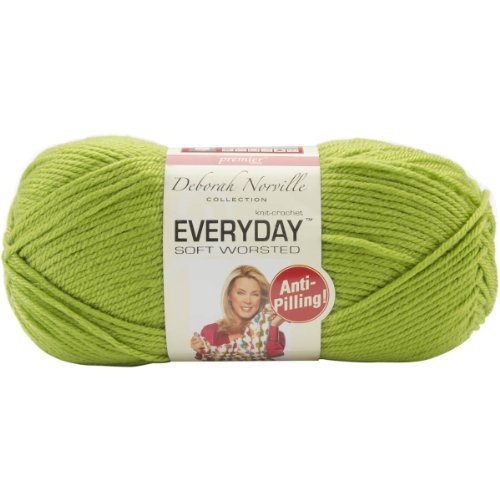 Premier Yarn Deborah Norville Collection 3-Pack Everyday Solid Yarn, Kiwi by Premier Yarn Kiwi Collection