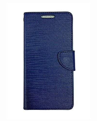 Fabson Flip Cover for Micromax Canvas Spark 2 Plus (Q350) Flip Cover Case - Blue