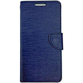 Celson Flip Cover For Micromax Canvas Spark 3 (Q385) Flip Cover Case - Blue