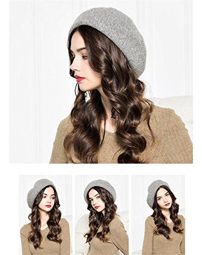 bonnets femmes confortables mode chapeau élégant chapeau élégant doux ( couleur : #1 ) N ° 5