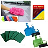 Finex Combo Of Cleaning Hand Gloves, Scr...