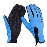 Unisex Damen Herren Fleecefutter Touchscreen Handschuhe,Tukistore Winter Handschuhe Damen Warme Fahrradhandschuhe Sport Handschuhe Fahrradhandschuhe Winterhandschuhe