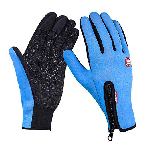 Unisex Damen Herren Fleecefutter Touchscreen Handschuhe ,Tukistore Winter Handschuhe Damen Warme Fahrradhandschuhe Sport Handschuhe Fahrradhandschuhe Winterhandschuhe