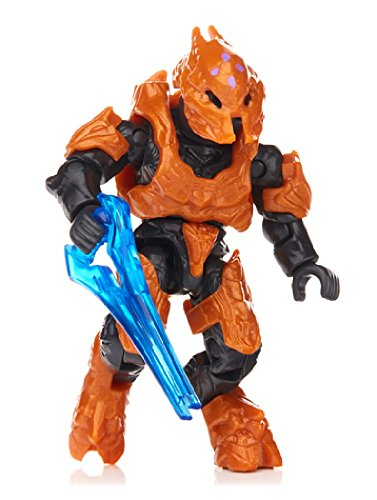 Mega Bloks Mattel Halo Covenant Orange Elite Zealot Figur Serie Foxtrot Minifigur