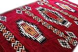 Damaskunst, vino rosso, beige, marrone, rosso, bianco, nero, 200 cm x 300 cm kilim orientale da parete tappeto, tappeto, tappeto, S 1-6-84