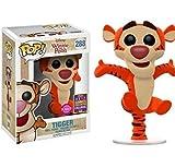 Funko - Figurine Disney Winnie The Pooh - Bouncing Tigger Flocked SDCC 2017 Pop 10cm - 0889698145190