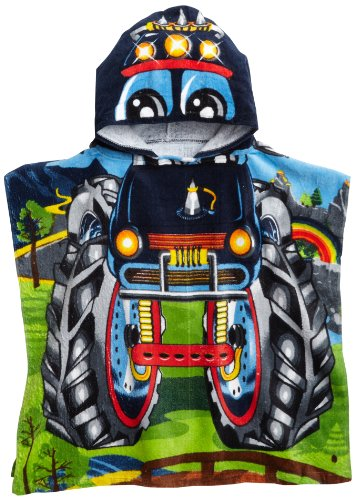 Northpoint Monster Truck Kids mit Kapuze Strandtuch Monster Truck