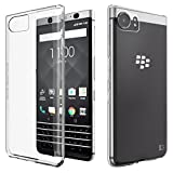 "BlackBerry Keyone Hülle, KingShark Ultradünn TPU Schutzhülle Flexibel Silikon Case Cover Handyhülle Slimcase Rückschale für BlackBerry Keyone (4,5"") - transparent"
