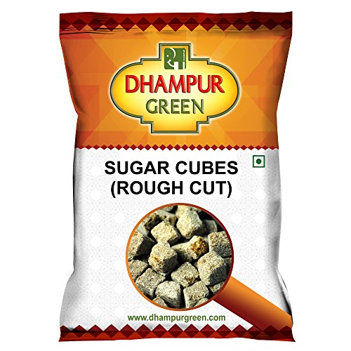 Dhampure Speciality Rough Cut Green Sugar Cubes, 350g