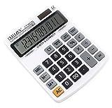 #7: Shunkk™ GITZHEN Premium Desktop Calculator- 12 Digits - CT9833N