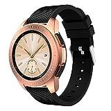 kompatibel Samsung Galaxy Watch 42mm Armbänd, 20mm Weiches Silikonarmband Sport Ersatzband Bracelet Zubehör für Samsung Gear S2 Classic SM-R732 & SM-R735 / Gear Sport SM-R600 Smart Watch