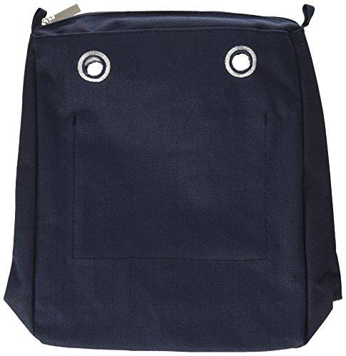 O bag sacca chic navy, borsa a mano donna, blu (blu navy), 29 x 33 x 10.5 cm (w x h x l)