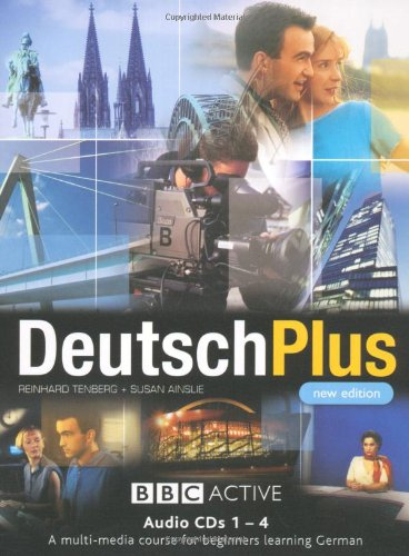 DEUTSCH PLUS 1 (NEW EDITION) CD's 1-4: Compact Disc Pack