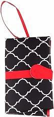 Segolike Portable Foldable Baby Kid Changing Mat Pad Cover Change Nappy Bag Travel Pocket - black