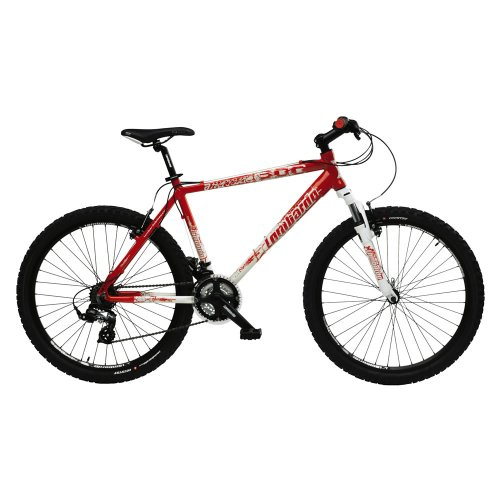 Lombardo Alverstone 300 Mens Lightweight Performance Bike – White/Red, 19 Inch
