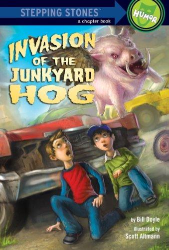 Invasion of the Junkyard Hog (A Stepping Stone Book(TM)) (English Edition)