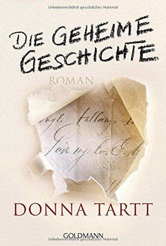 Buchcover Die geheime Geschichte: Roman