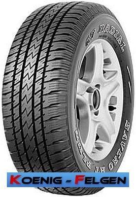 Gt radial savero h/t plus–215/80/r15102s–f/e/70–pneumatici da fuoristrada