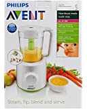 Philips Avent SCF870/21 Combined Baby Food Steamer and Blender