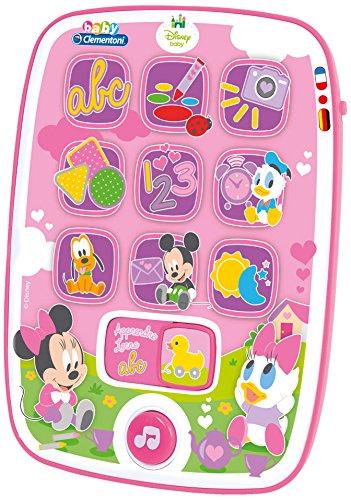 Clementoni-62949-Ma Primera Tablet Baby Minnie-Disney-Premier