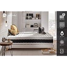 Naturalex Colchón Luxe Memory 80 x 200 cm | 7 Zonas de Confort 25cm de Profunidad