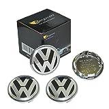 mangocore 4piezas para Volkswagen VW Rueda Center Hub 65mm Cap Cover insignia emblema...
