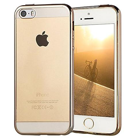 Coque Clair's - Coque iPhone SE, Transparent Clair Gel Silicone