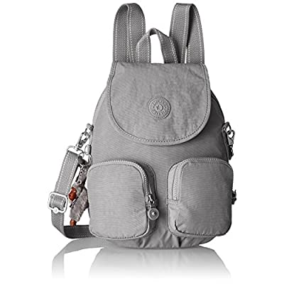 Kipling Firefly Up, Women's Backpack, Grey (Clouded Sky), 22x31x14 cm - casual-daypacks