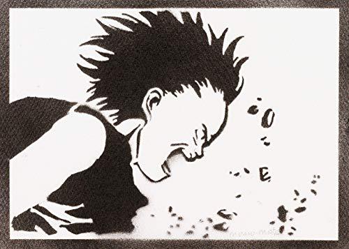 Póster Tetsuo Shima Akira Grafiti Hecho A Mano -...