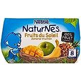 Les Fruits D'Été De Nestlé (8 Mois) 4 X 130G - Paquet de 4
