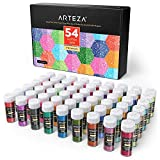 ARTEZA Porporina Glitter Colori Vari in Set da 54 96g…