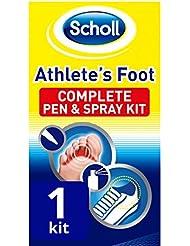 SCHOLL Kit 2 en 1 Mycoses des Pieds Stylo/Spray