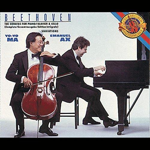 Beethoven: Complete Sonatas for Piano & Cello (1990-10-25)