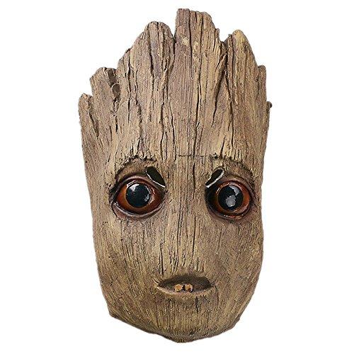 CYCG Groot Maske Guardians of The Galaxy Groot Treant Tree Man Maske für Erwachsene-Latex, Unisex Einheitsgröße