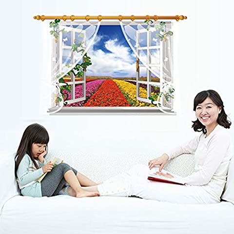 Creative Brief about windscreens landscape leave window can be removed and attach to the wall living room wall decorations bedroom wall posters