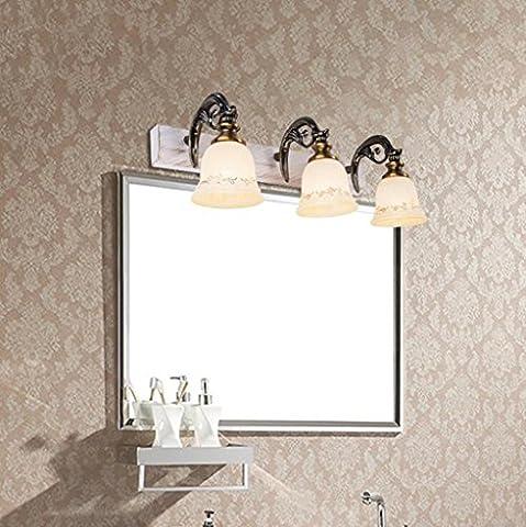 San Tai@LED Spiegelleuchte,Schranklampe Badlampe,Badleuchte Wandleuchte,Wand Spiegellampe,Beleuchtung mit Schalter,E27/E14,Leuchtmittel Typ:LED