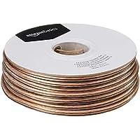 AmazonBasics - Cable para altavoces (calibre 14, 30,5 m, 2,08 mm²)
