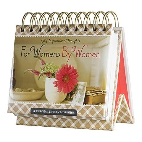 DaySpring For Women, By Women DayBrightener Perpetual Flip Calendar, 366 Days of Inspiration