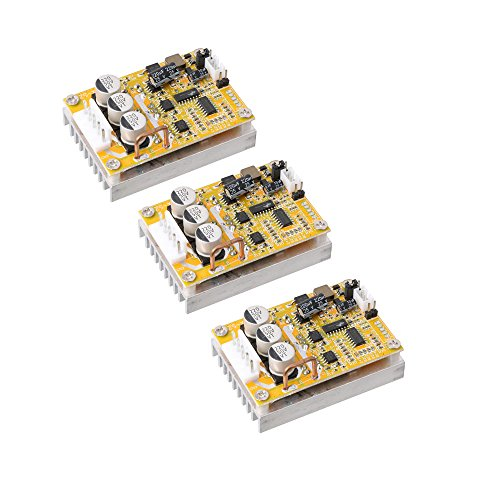 Drei-phasen-motor-controller (lyws 3DC 5V-36V 350W Brushless Motor Controller normal-reverse PWM Control BLDC Treiber BOARD W/Kühlkörper)