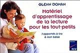 Matériel d'apprentissage de la lecture pour les tout-petits