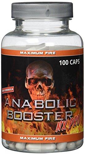 Anabolic Booster NX PRO - 100 Kapseln - NEW FORMULA - Neue Formel (NITRO X PRO) - Booster-formel